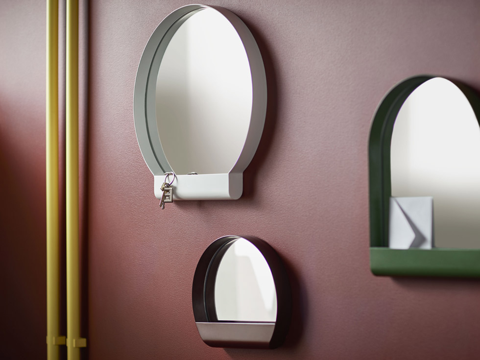 YPPERLIG espejo blanco €19,99