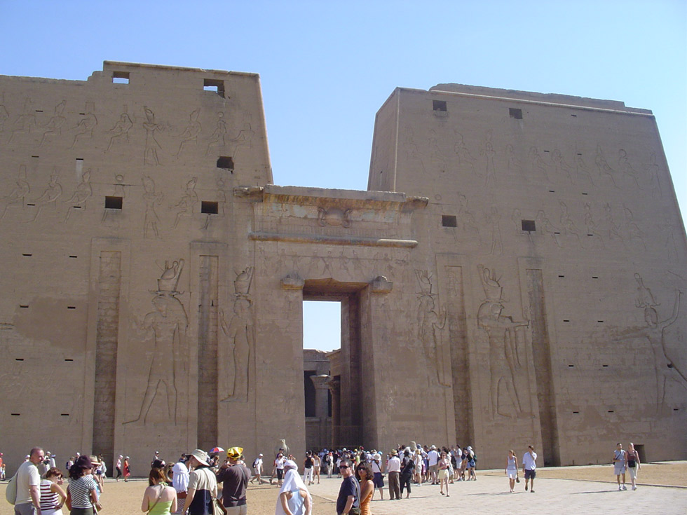 Templo Edfu. ©José Espanca