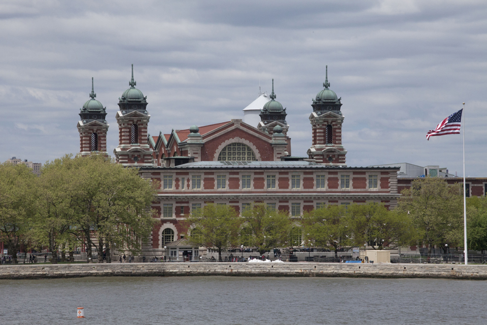 Ellis Island Immigration Museum New York Harbor. Foto: Marley White